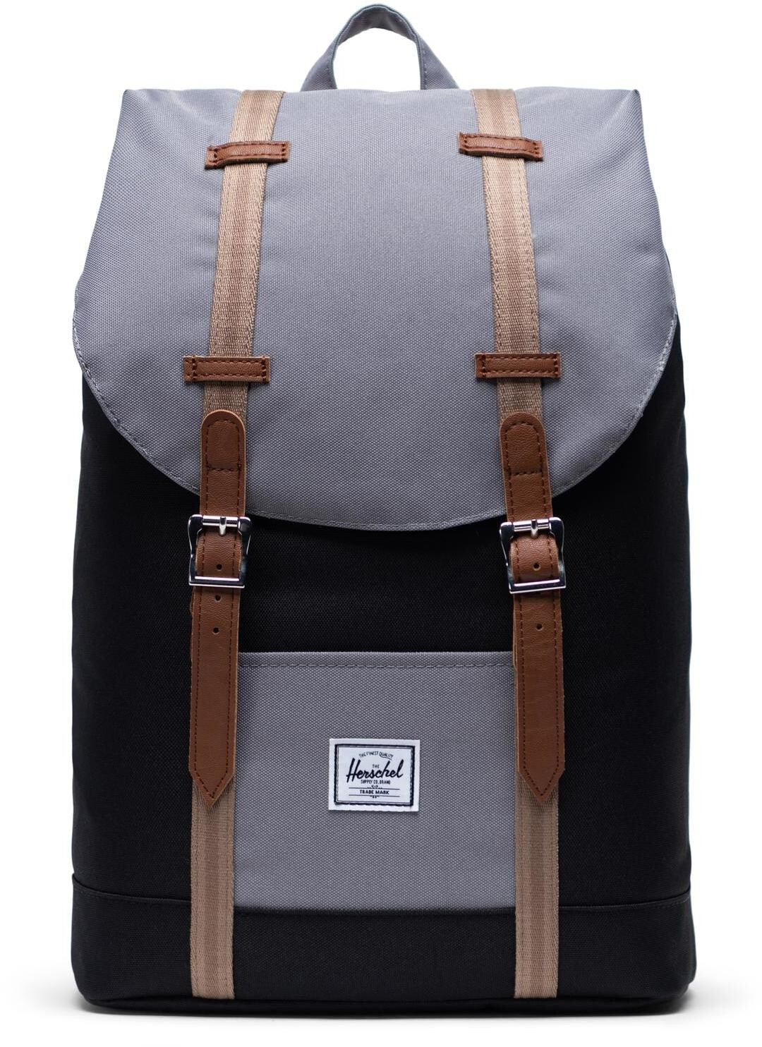 Herschel Retreat Mid Volume Rugzak 14l, blackgreypine barktan